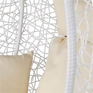 Schaukel Mit Gestell : rattan h ngesessel mit gestell polyrattan h ngekorb wei relax gartensessel ebay ~ Markanthonyermac.com Haus und Dekorationen