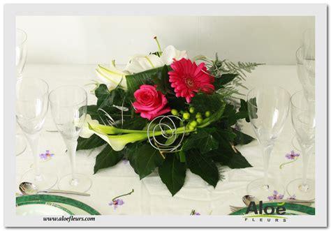 d 233 coration florale pour mariage centre de table mariage alo 233 fleurs6 aloe fleurs