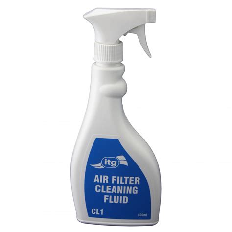 itg air filter cleaning fluid 500ml from merlin motorsport
