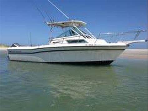 Boat Salvage Wilmington North Carolina by Grady White 1987 204c Overnighter Doovi