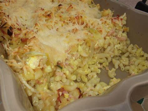 gratin de p 226 tes aux poireaux jambon et curry dans la cuisine de fabienne