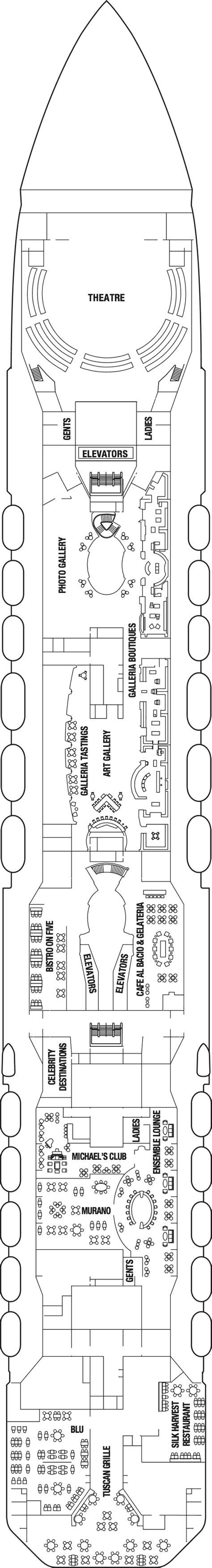 silhouette deck plans