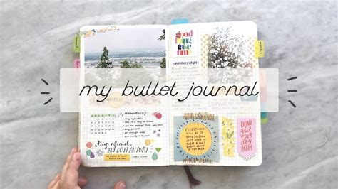 My Bullet Journal A Flipthrough  Cheyenne Barton Youtube
