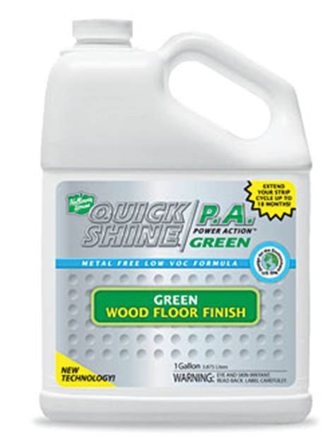 learn about shine power green floor finish from holloway house