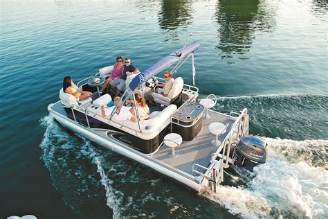 Older Model Deck Boats by Who S Who Pontoon Deck Boat Magazine