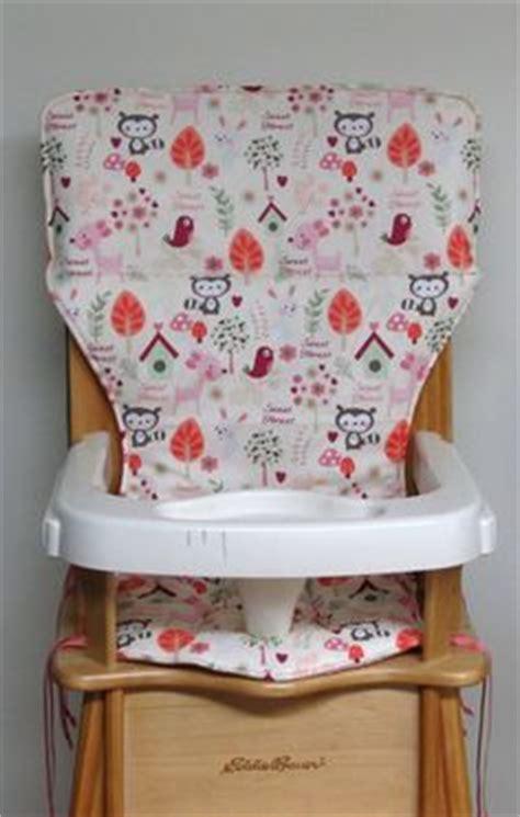 lind eddie bauer high chair seat cover pad