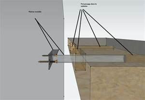 etagere murale bois fixation invisible mzaol