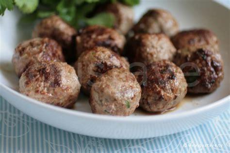 boulettes de viande 233 pic 233 es et moelleuses la recette gustave