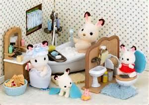 sylvanian families calico critters luxury bathroom set ebay