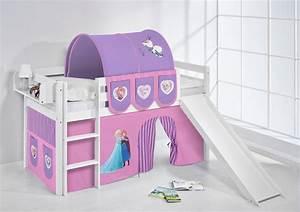 Vorhang über Bett : spielbett hochbett kinderbett kinder bett jelle mit rutsche vorhang ebay ~ Markanthonyermac.com Haus und Dekorationen