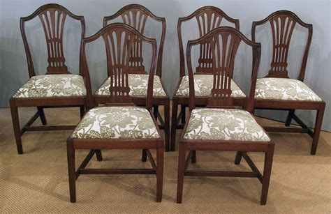 Set Of 6 Antique Mahogany Dining Chairs Corian Kitchen Sinks Reviews Astracast Pink Sink Drains Lights Over Stainless Steel Farmhouse Free Standing Unit Parts Of