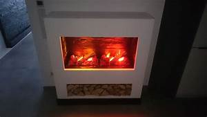 Elektrokamin 3d Flammeneffekt : elektrokamin selber bauen wasserdampf feuer effekt aus einem elektrokamineinsatz ~ Markanthonyermac.com Haus und Dekorationen