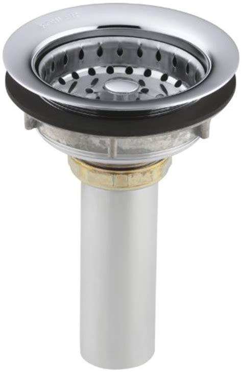 kohler k 8813 cp stainless steel sink strainer polished