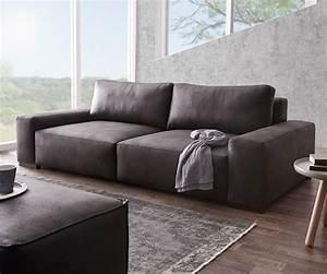 Big Sofa Vintage : big sofa lanzo 270x125 cm anthrazit vintage optik m bel sofas big sofas ~ Markanthonyermac.com Haus und Dekorationen