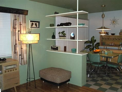 Classy Green Wall Interior Color Schemes Feat White Wooden