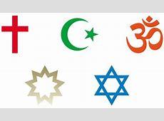 Religion symbols SPONSORED