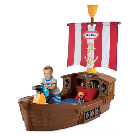 tikes pirate ship toddler bed babycenter