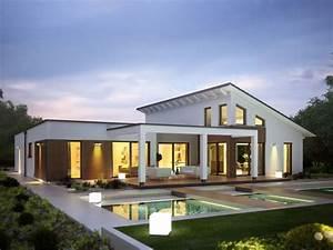Haus Bungalow Modern : rensch haus flatline r wohnen auf einer ebende ~ Markanthonyermac.com Haus und Dekorationen
