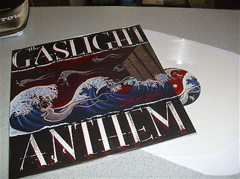 popsike the gaslight anthem sink or swim colored white marbled lp vinyl neu