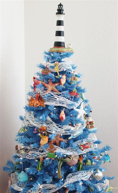 Beach Themed Christmas Tree Doliquid
