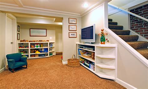Exceptional Basement Ideas On A Budget #7 Cool Finished Peacock Living Room Ideas Tailored Valances For Big Chairs Floor Tiles Design Colors In Grey Value City Tables Brown Furniture