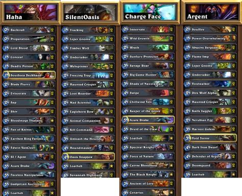 firebat hearthstone world chion see his decklist