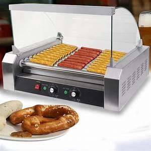 Hot Dog Machen : commercial hot dog 7 roller 11 roller grill cooker sausage machine w cover ebay ~ Markanthonyermac.com Haus und Dekorationen