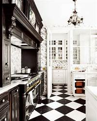 black and white kitchen 25 Beautiful Black and White Kitchens - The Cottage Market