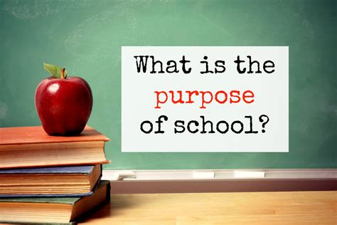 What Is The Purpose Of School?  Youth Are Awesome