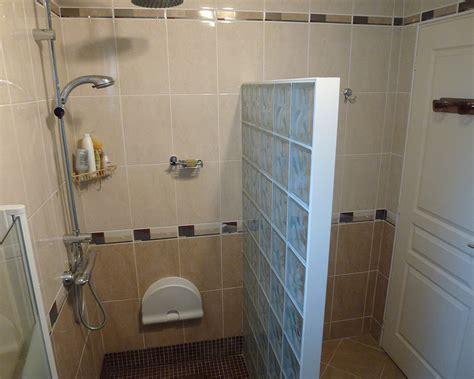 paroi brique de verre salle de bain 44210 pornic