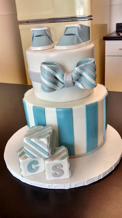 bow tie cake baby boy bow tie and blocks cake allow at least