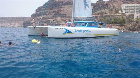 Aqua Sports Catamaran Gran Canaria excursi 243 n mar 237 tima en catamar 225 n aquasports deportes