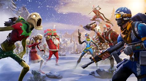 Fortnite Winter Season, Hd Games, 4k Wallpapers, Images