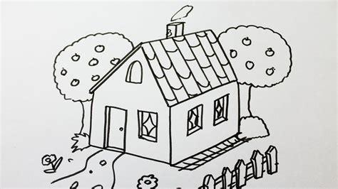 comment dessiner une maison