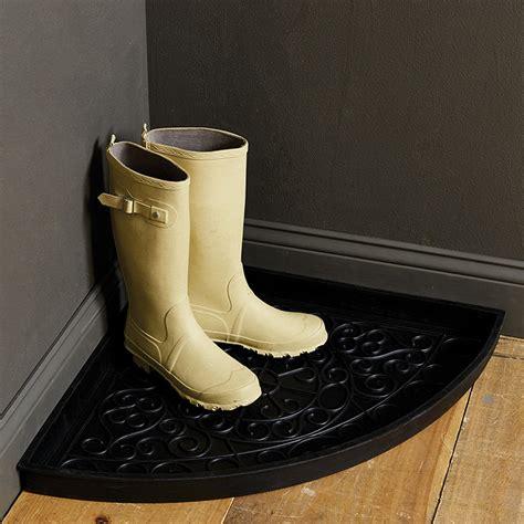 Rubber Boot Tray corner rubber boot tray ballard designs
