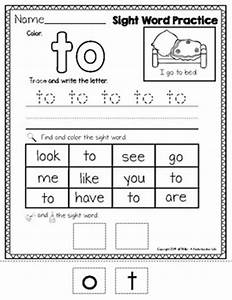Sight Words - Color, Trace, Write, Find,... by A ...
