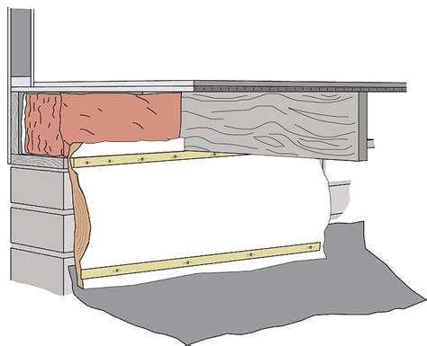 home insulation crawl space insulation repair