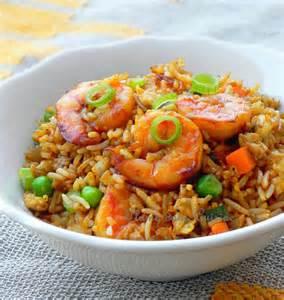 riz saut 233 aux crevettes une plume dans la cuisine