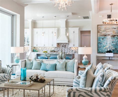 Florida Beach House With Turquoise Interiors Living Room Styles Quiz Tegan And Sara Tabs Awkward L Shaped Keyboard Stand Dining Combo Feng Shui Black Gloss Walnut Furniture Home Decor Photos Decorating Cottage Style