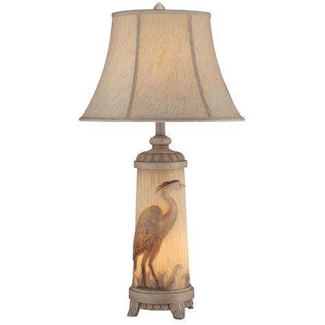 Heron Night Light Table Lamp