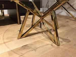 Tisch Glas Metall : runder couchtisch glas metall glastisch rund gold tisch rund durchmesser 100 cm ~ Markanthonyermac.com Haus und Dekorationen