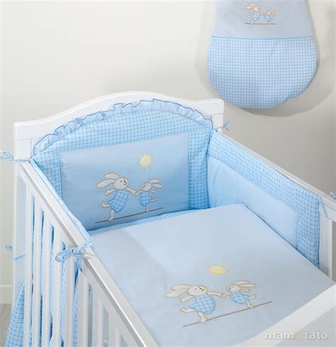 linge de lit b 233 b 233 bleu lapins i linge de lit bebe 60x120 ou 70x140