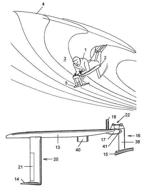 Catamaran Sailing From Start To Finish Pdf by Patent Us7144285 Hydrofoil Surfing Board Google
