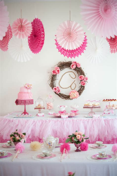 A Whimsical & Sweet Ombre Princess Party  Anders Ruff