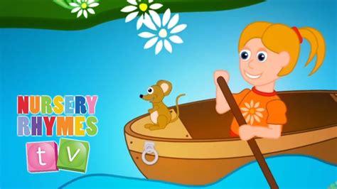 Youtube Row Your Boat Nursery Rhyme by Row Row Row Your Boat Nursery Rhymes Tv Toddler
