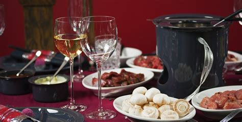 ski quels vins boire avec une fondue bourguignonne le figaro vin