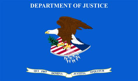 file flag of the united states department of justice svg