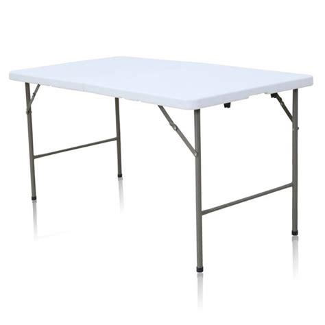 table pliante rectangle 6 personnes table pliante en malette