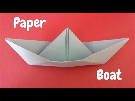 How To Make A Paper Boat Step By Step With Pictures by How To Make A Paper Boat Origami Step By Step Tutorial