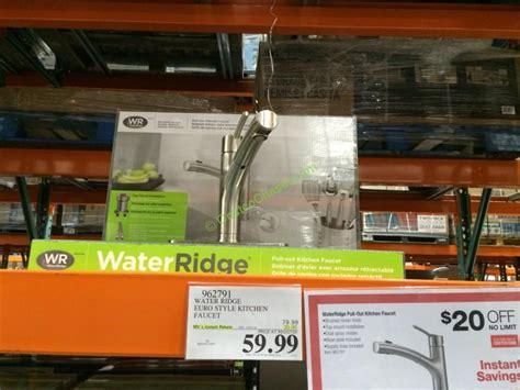 water ridge style kitchen faucet costcochaser
